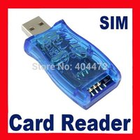 Wholesale-1pcs освобождает перевозку груза USB 16in1 Sim Card Reader / Writer / Copy / Cloner / Backup Kit бесплатная доставка