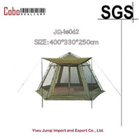 Wholesale inflatable field - Wholesale- inflatable fishing camping outdoor party screen sun shelter quick Waterproof 6-Person Instant Tent Screenhouse