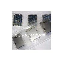 Wholesale Tabs Sim Card Slot - Wholesale-30PCS LOT Sim Socket For Samsung Galaxy Tab 2 P3100 P6200 Sim Card Reader Holder Tray Slot Free Shipping With Tracking Number