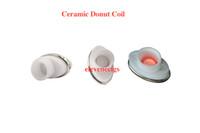 Wholesale Electronic Cigarette Elips Atomizer - Full ceramic dual ceramic donut atomizer coil for elips micro gpen cloud pen ceramic electronic cigarette 0.5-0.7ohm for Box Mod