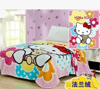 Wholesale Princess Fleece Blanket - Children Cartoon Blanket Cute Girl Blanket on Bed   Sofa Princess Blanket Super Warm & Soft, 150x200cm Free Shipping