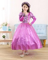 Wholesale Short Ballgown Party Dress - 100pcs lot 2015 Cotton flare short sleeve Ballgown Mid-calf lace mesh princess party crystal dress for Baby girls For free shipping