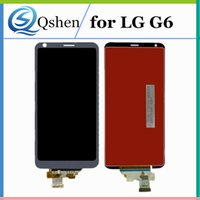 Para LG G6 Full LCD Touch Screen Display Assembly Digitizer Complete Original Quality G6 Repuestos