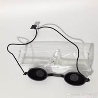 ipl schönheit maschine salon großhandel-Tamax Beauty EG001 lichtundurchlässige schwarze Augenschutzbrille für IPL LASER-Schönheitsmaschine PDT Led-Schönheitsgerät mit photodynamischem Salon