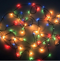 Wholesale electric power windows - Christmas illumination with 100 lamp heads 220V AC input power source led decorative lights for Chirstmas trees,Windows etc