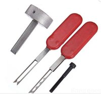 Wholesale Hu66 New - New Inner Groove Lock Pick Locksmith Tool HU66 Lock Opener