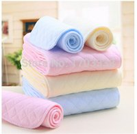 Wholesale Ecological Baby Cloth - 2015 New Arrival 6 layers Infant diapers Babyland baby cloth diaper colorful Ecological cotton diaper Free shipping
