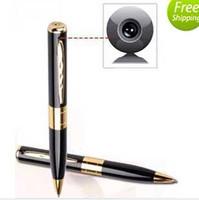 Wholesale Digital Pen Camcorder - 2015NEWMicro Spy Camera Video Pen HD 1280x960 Hidden Cam Voice Recorder Mini DV DVR Digital Camcorders Camara Espia Caneta Espiao