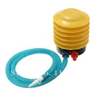 Wholesale-New Balloon Swimming Ring Brosse à balles à yoga Gonflable Toy Foot Bellow Pompe à air