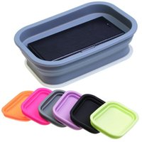 Wholesale Best Storage Boxes Folding Storage Boxes Silicone Material New Arrival Creative Design for Sale EB DN15522