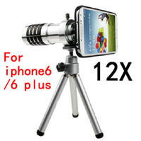 case phone len - Newest mobile phone x Zoom optical len Telescope Camera telephoto Lens with phone case For Apple iPhone plus