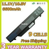 Wholesale Hp 4515s Battery - Free shipping- 6600mah 9Cell Laptop Battery for HP ProBook 4510s 4515s 4710s 4720s 4510s CT 4515s CT 4710s CT 513130-321 535753-001 535808-0