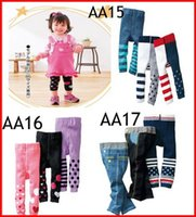 Wholesale Samples Children - 3Pc Retail Sample New Baby Nissen PP Pants Kids Leggings Tights Pants Children Casual Pants Toddlers Cotton Tights Accept Size Choose 0-4T