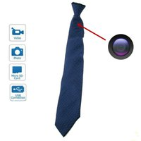 Wholesale Mini 4g Wireless Spy - Spy 4GB Hidden Camera Invisible Neck Tie Mini Camera 720 x 480 With Wireless Remote control sample