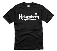 Wholesale breaking bad - 2018 fashion cotton couples casual 3Dprint stylish Sitcoms breaking bad short-sleeve T-shirt heisenberg lovers design plus size