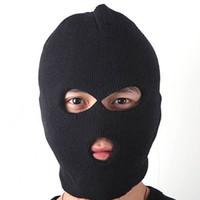 chapéu de inverno coberto rosto venda por atacado-Moda Unisex Mulheres Homens Moda Inverno Quente Tampa Do Rosto Completo Máscara De Esqui Gorro Chapéu Cap