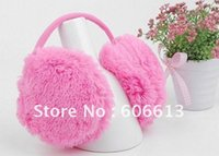 Wholesale Cheap Ear Muffs Free Shipping - Wholesale-Warm 10 Colors Available Earmuffs Earwarmers Cheap Ear Muffs Earlap For Woman 20pcs lot free shipping