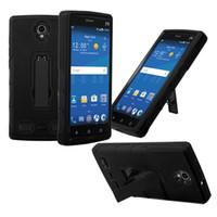 мобильные телефоны zte max оптовых-Новое прибытие сотовый телефон случае противоударный сверхмощный с подставкой для ZTE MAX 2 TPU + PC 2 в 1 случае
