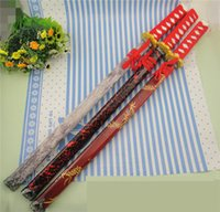 Wholesale Decorative Knives - Characteristics Of Wooden Performance Props Japanese Samurai Sword Toyo Knife Long Decorative Pattern A Long Knife Used For The Performance