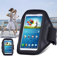 Wholesale Jogging Cell Phone Holder - Cell Phone Sports Armband Case Pouch Holder for Samsung Galaxy S7 6 5 Note 5 4 for iPhone 7 6 for Running Jogging