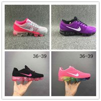 Wholesale Queen Shoes - Just for queen Custom Vapormaxes 2018 kpu Plyknit Running Shoes women Trainers Tennis Homme Kpu Sport Authentic running shoes size 36-40