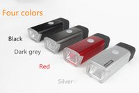 Wholesale Night Ride Bike Light - 2015 New USB Bike Light Germany's Specification Night Riding Bicycle Headlights 4-Mode Rechargeable Front Safety Built-in Battery Lamp