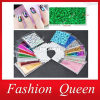 Wholesale Nails Transfer Foil - Nail Art Stickers, 50 Designs Nail Transfer Foil Decals 35pcs lot Foils Polish Adhesive Wraps,DIY Nail Beauty Craft Accessories