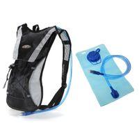 mochilas de hidratación de vejiga al por mayor-30PCS Paquete de hidratación Mochila de agua Mochila Bolsa de vejiga Ciclismo Bicicleta / Senderismo Escalada Bolsa + Conjunto de vejiga de hidratación 2L