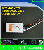 Wholesale lighting for high ceilings resale online - High quality V A W v Lighting Transformers high quality safe Driver for LED Strip RGB ceiling Light bulb Driver Power Supply