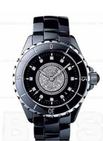 Wholesale Ceramic Watch Prices - factory seller High quality low price -luxury Ladies Ceramic Watch Sapphire QUARTZ H2122 BLACK 33M CERAMIC Black Dial Date watches Women's W