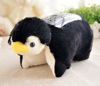 Wholesale Penguin Lamp - Cute Penguin LED Night Light Kids Dream Star Lamp Baby Care Novelty Lights For Valentine's Day Christmas Gift Kids' Toy Gift
