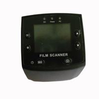 escáner de color usb al por mayor-Envío gratuito 5MP 35mm USB Escáner de visor de diapositivas de película negativa 2.4