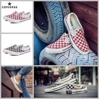 Wholesale Canvas Shoes Van - 2017 Converse Chuck TayLor X Van 1970s Slip On Converses Checkboard Canvas Running Shoes Women Men Designer All Star Casual Sneakers 35-44