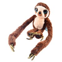 Wholesale Croods Monkey Belt - Wholesale-The Croods Cartoon Character Long Arms Plush Stuffed Soft Toys Belt Monkey Dolls(Small Size)