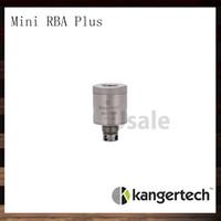 Wholesale V2 Clearomizer - Kanger Subtank Mini RBA Plus Deck Kangertech Mini RBA Plus Base V2 For Subox Mini Kit Subtank Plus Clearomizer 100% Original