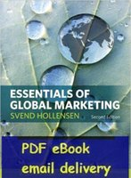 Wholesale-Essentials of Global Marketing di Svend Hollensen 2 ° edizione