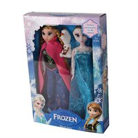 Wholesale Frozen toy Anna toy Elsa toy olaf Toys Princess dolls Inch Nice Gift For Kids Girls for Chirtmas gift