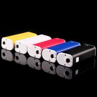 Wholesale Itaste Adjustable Electronic Cigarette - Original ECT eT 30P Box Mod Battery eT 30P Electronic Cigarette Batteries 1800mah 10W-30W VS iStick 30W iTaste MVP V2 Colors (06h029)