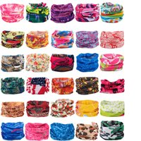 Wholesale Magic Head Scarf - camouflage bandana Cycling Bicycle Variety Turban Magic Headband Veil Multi Mask Cap Head Scarf Scarves Face Mesh Skull Bandanas