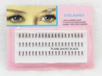 Wholesale Eye Growing - 60pcs Individual False Curl eyelash extension eye Lashes Clusters of grow eyelashes Planting eyelash order<$18 no tracking