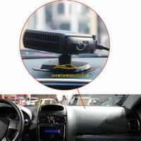 """Wholesale Car Auto Vehicle Portable Ceramic - Auto Fan 10.5 x 5.9cm 4.13""""x2.32"""" Defroster Demister 12V 200W Vehicle Car Fans Car Heater Ceramic Portable Heating"""