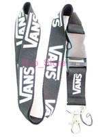 Wholesale Key Chain Strap Holder - Hot !Black&White Lanyard ID Badge Key Holder chain iPod Camera Neck Strap Detachable