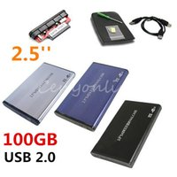 Wholesale Sata Hdd Hard Drive Connector - High Quality 2.5inch USB 2.0 SATA 1TB 1024GB External Storage Hard Disk Drive HDD Case Box Enclosure Converter Adapter Connector A5