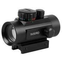 Wholesale Shotgun Sight Green Dot - New Optics Sight 1X30 5 MOA Illuminated Red Green Dot Scope RD40CP for Shotgun Rifle Hunting L0189