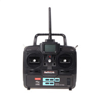 Wholesale 6ch rc receiver - RadioLink T6EHP-E 2.4G 6CH Radio Control System Transmitter w  R7EH 7CH Receiver for RC Helicopter Model 2 order<$18no track