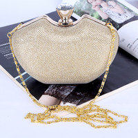 Wholesale Factory brand new handmade gorgeous evening bag clutch with satin for wedding banquet party porm