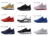 Wholesale Tassel Comfortable Flats - Comfortable fashion Men's and Women's Running Shoes training man max 97 best quality boy girls sport breathable athletic shoes free shipping