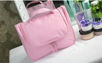 Wholesale Purple Art Canvas Large - 2017 large-capacity cosmetic bag collection multi-function cosmetic bag ladies waterproof travel wash bag To receive a package