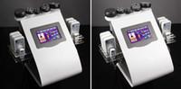 cavitação de ultra-som rf venda por atacado-6-1 a gordura do laser de Lipo remove a máquina Multipolar Tripolar da cavitação do ultra-som do RF