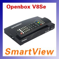 Wholesale Hd Tv Digital Satellite Receiver - Openbox V8Se Digital Satellite Receiver DVB-S2 FTA HD sat receiver openbox V8Se support WEB TV, Biss Key, DLNA